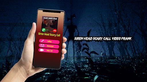 Siren Head Scary Call Video Prank screenshot 1