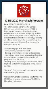 ICSEI 2020 Marrakesh Program for PC-Windows 7,8,10 and Mac apk screenshot 3