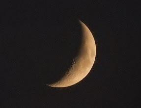 Photo: 今宵の月、六日夜月。
