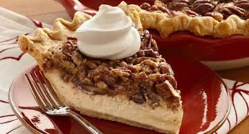 Decadent Cheesecake Pecan Pie