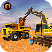 Heavy Construction Crane Driver: Excavator Games Android APK Download Free By Virtual - Apps & Games