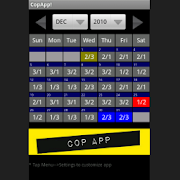 App Icon for CopApp ! Calendar Schedule App in United States Play Store