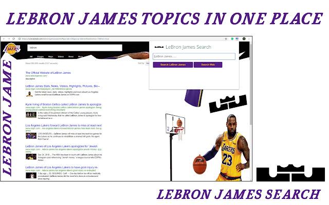 LeBron James Search