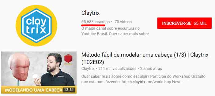 claytrix youtube