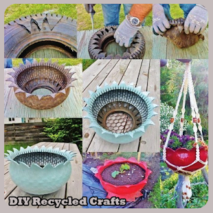 Diy recycled crafts apps on google play screenshot image solutioingenieria Images