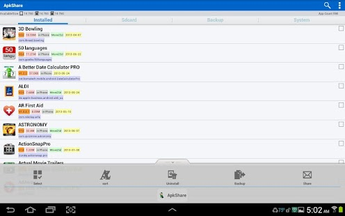 ApkShare Screenshot