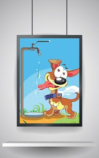 Kids Puzzle: Cartoon Dogs - náhled