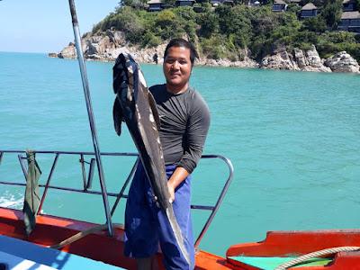 Mr. Tu Fishing Day Trip by Escort Boat from Koh Samui