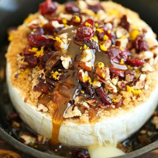 Cranberry Pecan Baked Brie.