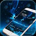 синий Земля неон технологии icon