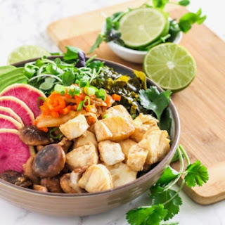 Miso Ginger Cod Power Bowls.