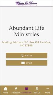 Abundant Life Ministries - náhled
