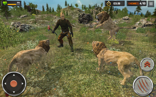 The Lion Simulator - Wildlife Animal Hunting Game modavailable screenshots 6