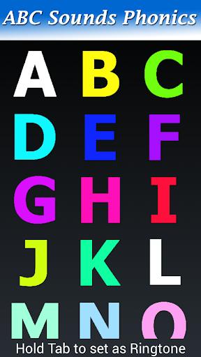 ABC拼音的声音
