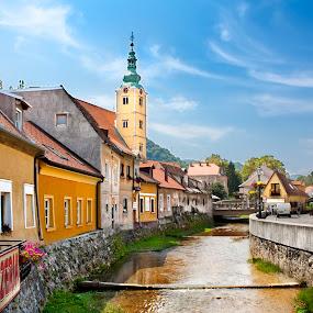 Samobor (Croatia) by Jesús Sánchez Ibáñez - City,  Street & Park  Skylines ( pwcskylines )