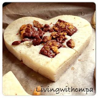 Dairy Free Chocolate Honeycomb Chip Cookies