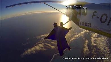 Photo: Départ Wingsuit à Nouméa Skydive