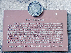 Photo: Fort Schuyler, Bronx NY Location of New York Maritime College and nautical museum with over 300 pieces donated by various individuals from US nautical history.