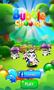Bubble Shooter Pet Raccoon- screenshot thumbnail
