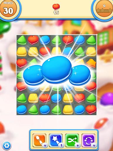 Cookie Macaron Pop : Sweet Match 3 Puzzle filehippodl screenshot 6