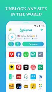 Lightspeed VPN – Fast Speed VPN & Free 2