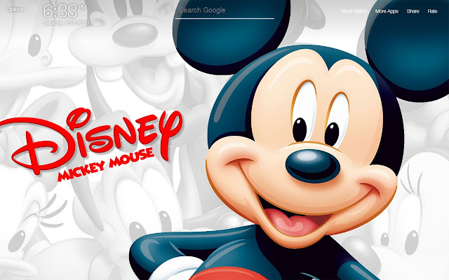 Mickey Mouse Wallpapers FullHD New Tab