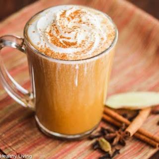 Skinny Pumpkin Spice Chai Latte