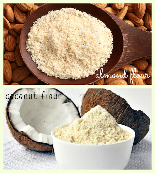Photo: Almond Flour or Coconut Flour: which you do YOU think wins the great flour substitute race and why?? bit.ly/1z98W6H  #almondflour #coconutflour #nutrition #healthyliving #baking