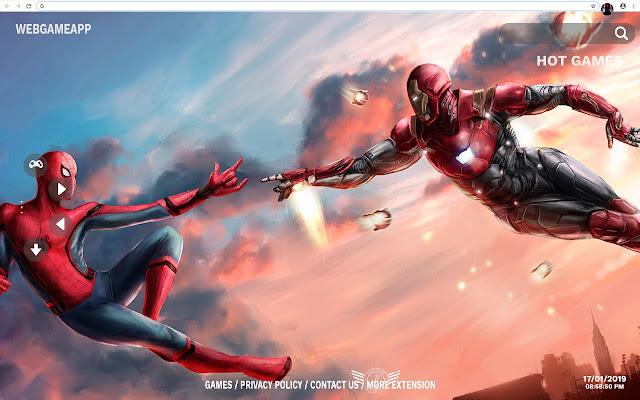 Spiderman Hd Wallpapers New Tab