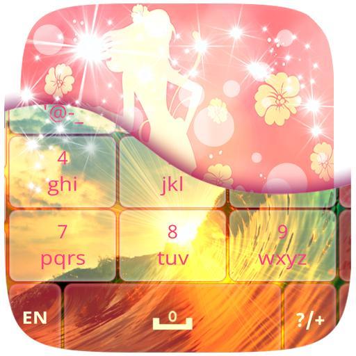 娛樂App ガーリーのGOキーボードのテーマ LOGO-3C達人阿輝的APP