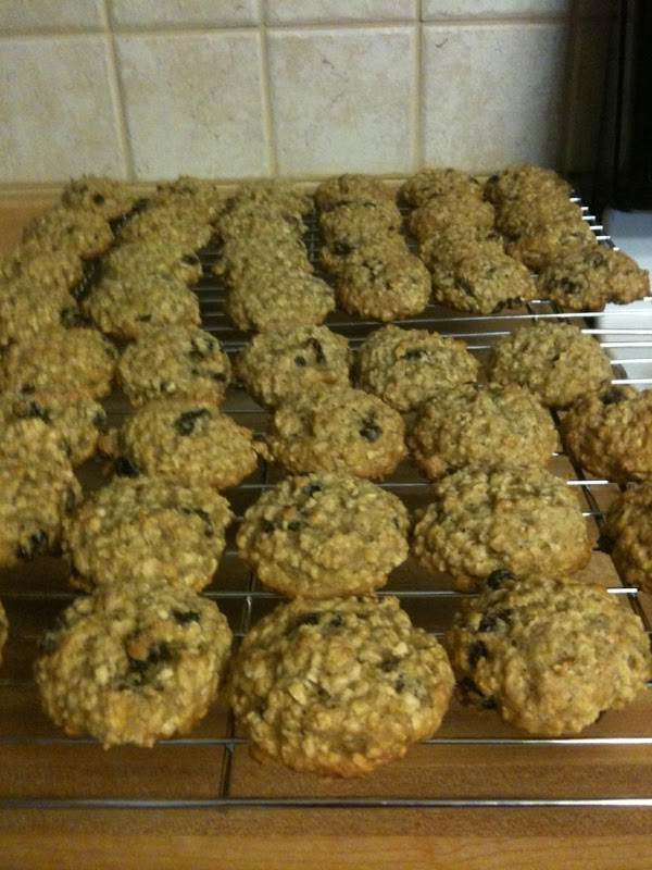 Drop dough by tablespoonfuls onto a baking sheet lined with parchment paper. Bake for...