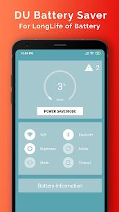 DU Battery Saver MOD Apk 4.9.0.1 (Unlocked) 4