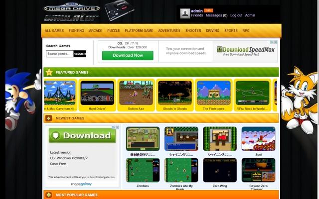 SEGA GENESIS / SEGA Mega Drive Emulator
