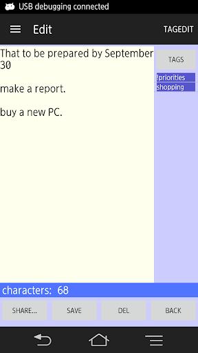 tagMemo free - simple notepad 1.2.0 Windows u7528 3