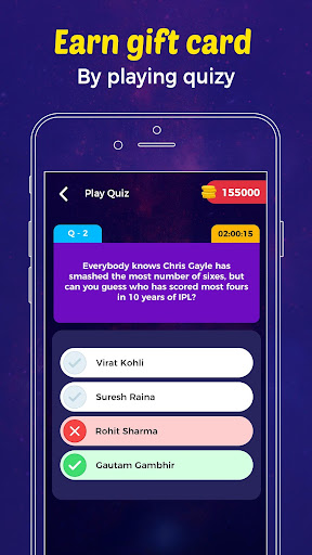 Quizo - Live Trivia Quiz Game & Win Money Online  captures d'écran 2