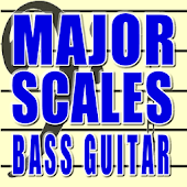 Bass Guitar Major Scales