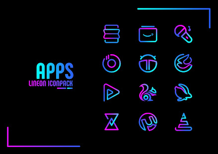 Lineon Icon Pack: LineX