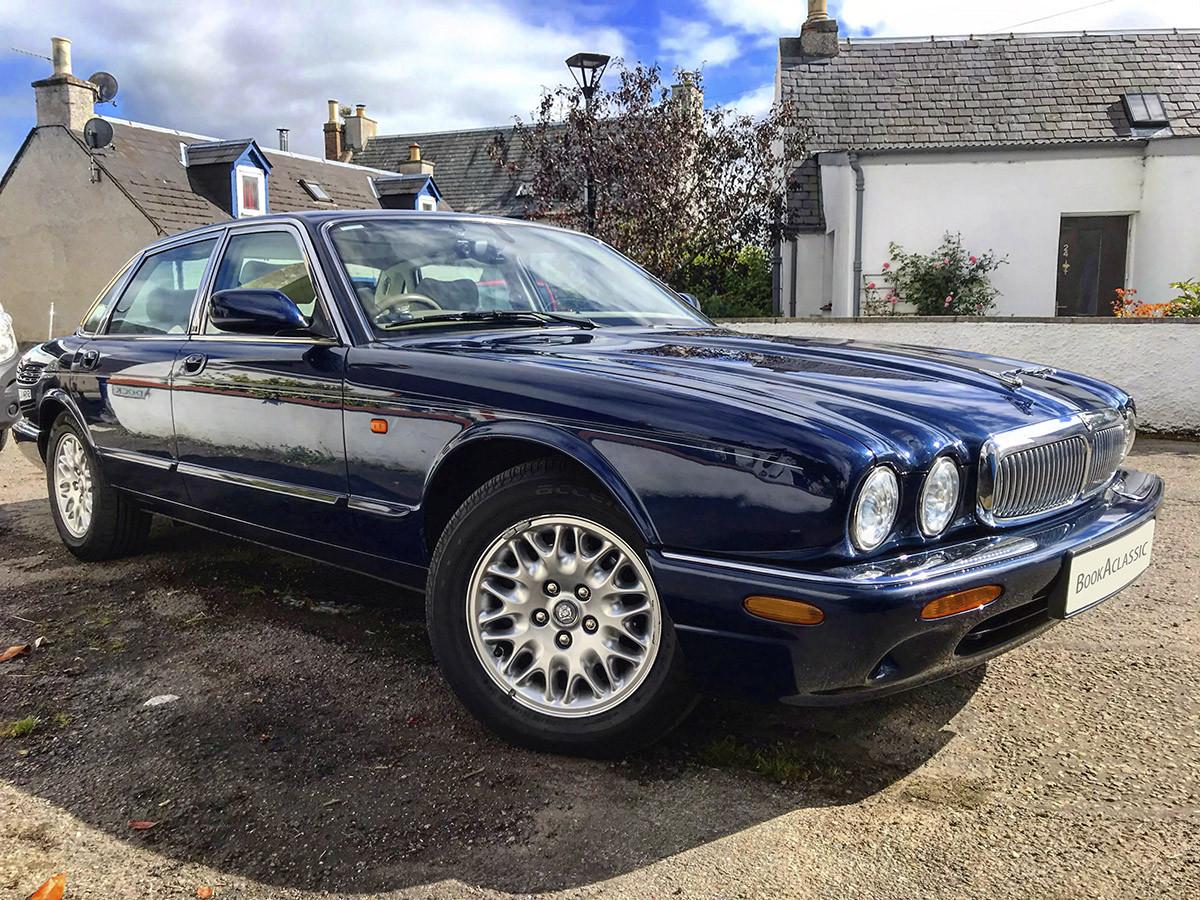 Jaguar XJ8 Hire Inverness