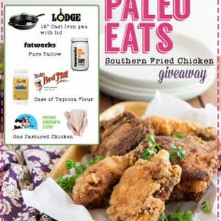 Paleo Southern Fried Chicken + Giveaway.
