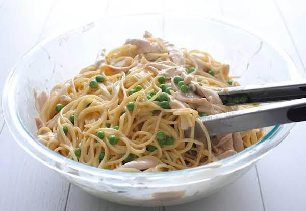 Lemony Chicken Spaghetti Recipe