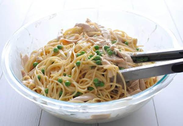 Lemony Chicken Spaghetti