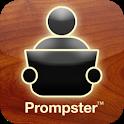 Prompster Public Speaking App icon