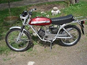 Photo: Tunturi Super Sport 77 originaali lisävarustetarakka