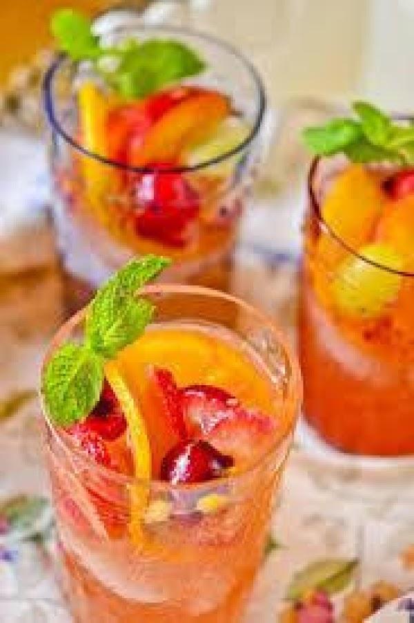 Just Peachy Sangria Recipe