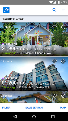 Apartments & Rentals - Zillow 3.5.2.1300 screenshots 2