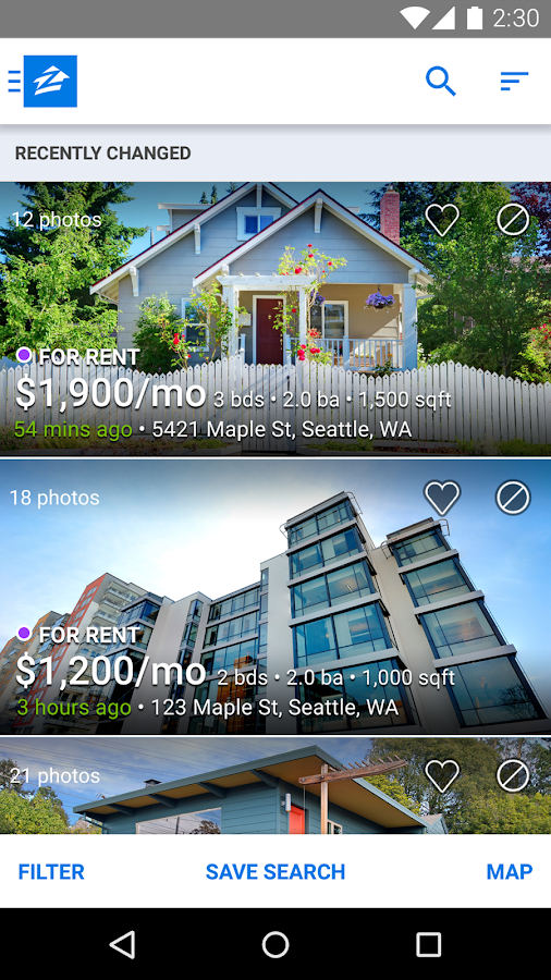 Apartments   Rentals   Zillow  screenshot. Apartments   Rentals   Zillow   Android Apps on Google Play