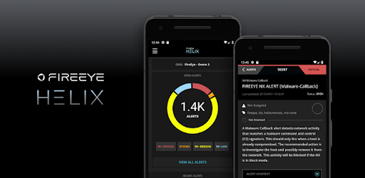 FireEye Helix Mobile - by FireEye, Inc  - Business Category