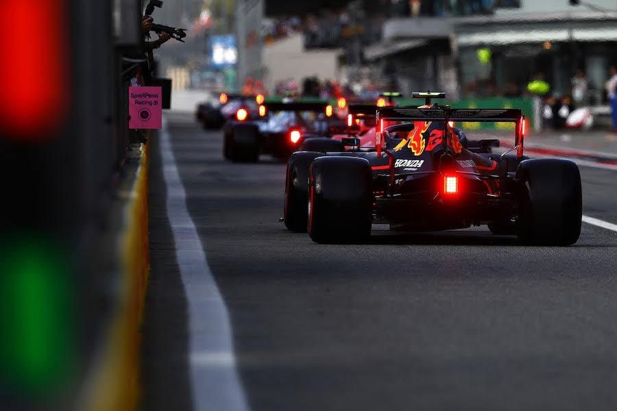 F1イタリアGP予選で大渋滞