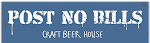 Logo for Post No Bills Craft Beer House