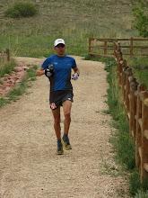 Photo: 3rd place finisher Jason Koop at mile 40.